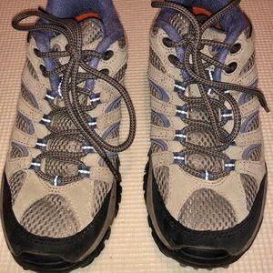 Women Merrell Continuum Vibram Hiking Shoes, SZ 6